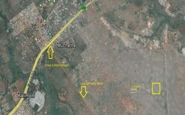 80940 m² land for sale in Juja