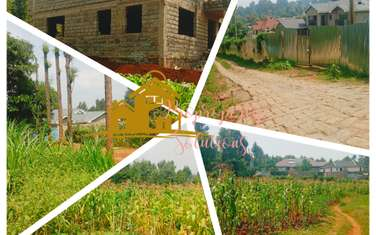 Residential land for sale in Kikuyu Town