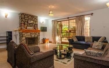 Furnished 2 bedroom house for rent in Karen