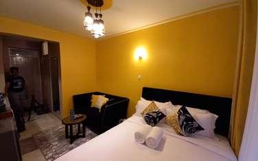 Furnished studio apartment for rent in Kiambu Road