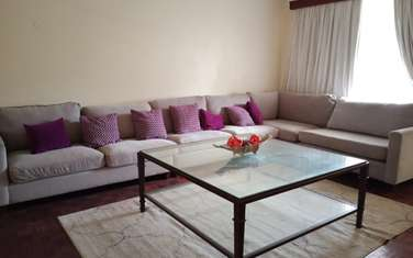 Furnished 3 bedroom apartment for rent in General Mathenge
