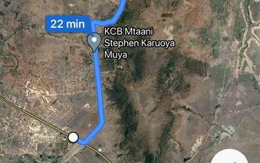 5 ac land for sale in lukenya