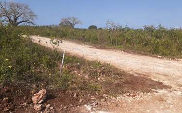 450 m² land for sale in Diani