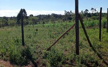 Residential land for sale in Kiambu Road