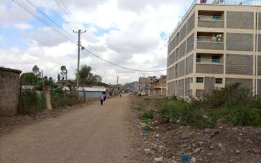Commercial land for sale in Kahawa