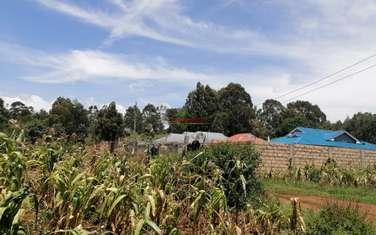 Residential land for sale in Gikambura