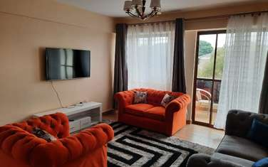Furnished 2 bedroom apartment for rent in South B