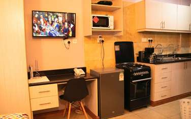 Furnished studio apartment for rent in Nairobi West