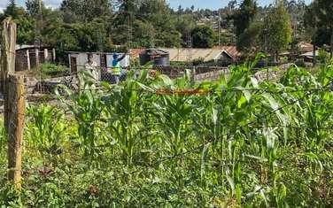 1000 m² land for sale in Kikuyu Town