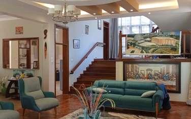 Furnished 4 bedroom villa for rent in Thigiri