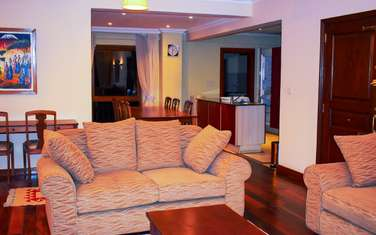 furnished 4 bedroom apartment for rent in Upper Hill