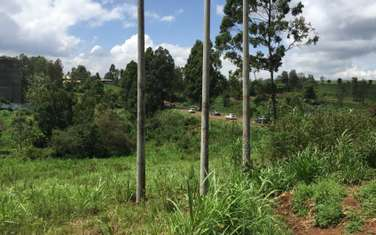 0.5 ac land for sale in Kiambu Road