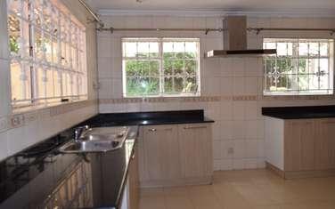 4 bedroom house for rent in Thigiri