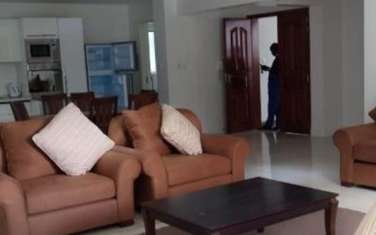Furnished 3 bedroom apartment for rent in Waiyaki Way