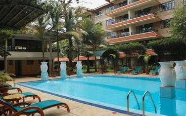 Furnished 1 bedroom apartment for rent in Westlands Area