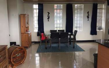 Furnished 3 bedroom house for rent in Runda