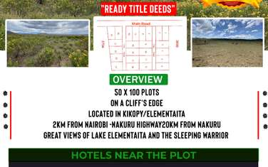 Land for sale in the rest of Naivasha