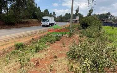 0.2 ha land for sale in Kikuyu Town