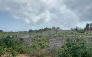 0.25 ac commercial land for sale in Nyali Area