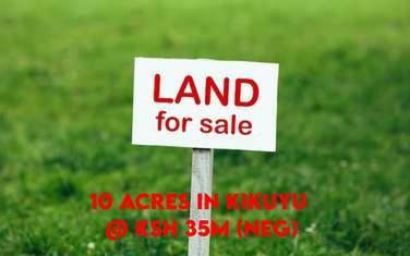 10 ac land for sale in Kikuyu Town