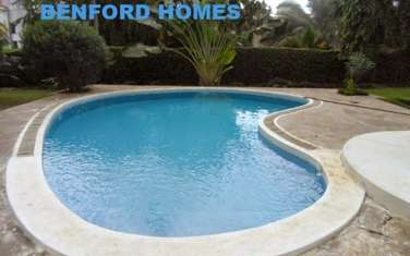Furnished 4 bedroom villa for rent in Nyali Area