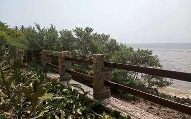 1.26 ac land for sale in Shanzu