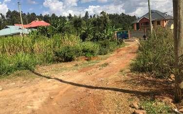 0.1 ha residential land for sale in Kikuyu Town