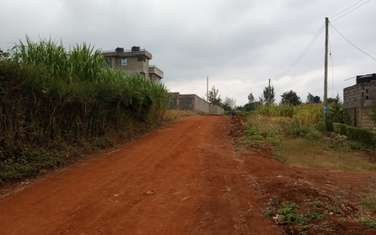 0.134 ac residential land for sale in Ruiru