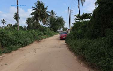Commercial land for sale in Mtwapa