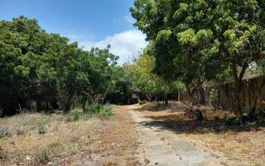 3 ac residential land for sale in Nyali Area