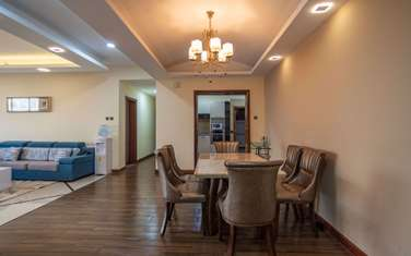 Furnished 3 bedroom apartment for rent in Kileleshwa