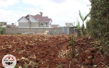 600 m² residential land for sale in Gikambura