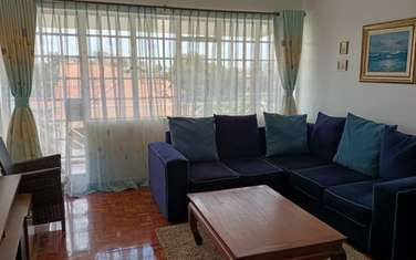 Furnished 1 bedroom apartment for rent in Kilimani