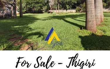 Land for sale in Thigiri