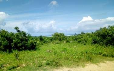 Residential land for sale in Mtwapa