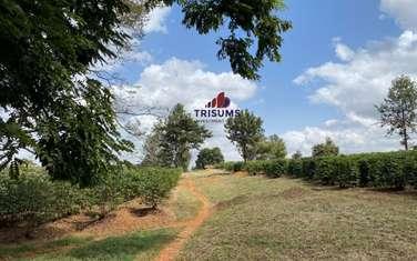 0.25 ac residential land for sale in Ruiru
