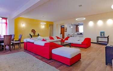 Furnished 3 bedroom apartment for rent in Westlands Area