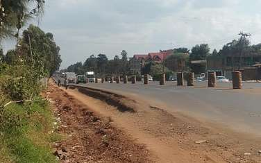 Commercial land for sale in Kikuyu Town