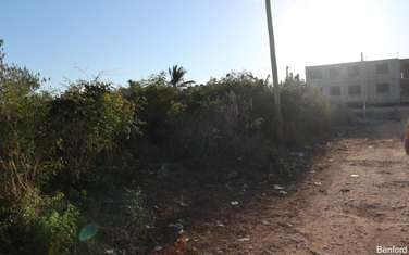 Land for sale in Shanzu