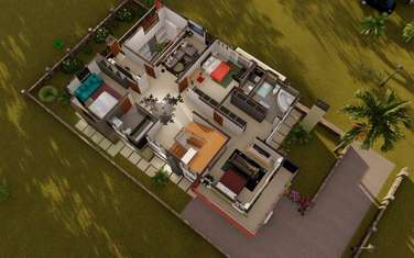 4 bedroom villa for sale in Ngong