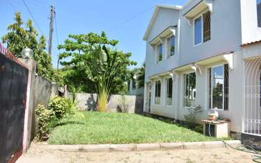 Furnished 4 bedroom house for rent in Shanzu