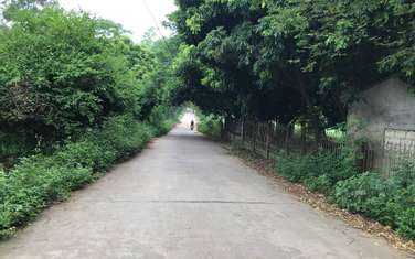 500 m2 residential land for sale in District Ba Vi