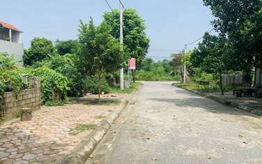 150 m2 residential land for sale in District Quoc Oai