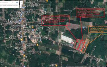 600 m2 residential land for sale in District Hon Quan
