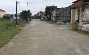 244.5 m2 residential land for sale in District Quang Ninh