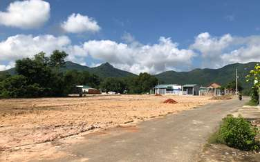 167 m2 land for sale in Phu My town