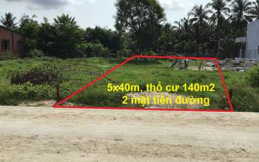 215 m2 residential land for sale in District Duong Minh Chau