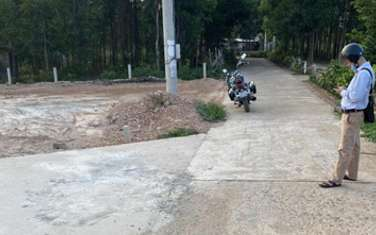 140 m2 residential land for sale in District Trieu Phong
