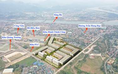 100 m2 residential land for sale in Hoa Binh