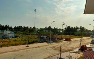115 m2 residential land for sale in Thi xa Go Cong